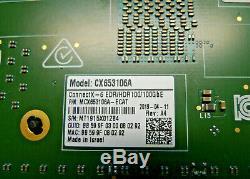 Mellanox Connectx-6 Cx653106avpi 100g Carte Adaptateur Mcx653106a-evac