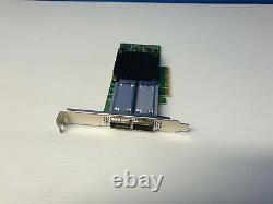 Mellanox Cx414a Mcx414a-gcat Dual-port Connectx-4 50gbe Pcie Nic Adaptateur Card