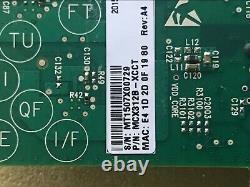 Mellanox Mcx312b-xcct Connectx-3 Dual Port 10go Sfp+ Carte Adaptateur Réseau