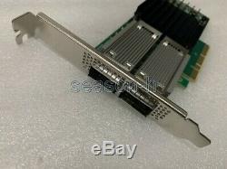 Mellanox Mcx456a-cea Ax-4 Connectx Carte Adaptateur Vpi Ib Pcie3.0 X8 100 Go Fp