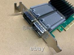 Mellanox Mcx456a-eca Ax Connectx-4 Carte D'adaptateur Vpi Ib Pcie3.0 X8 100 Go Lp