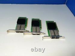 Mellanox Mcx556a-edat Connectx-5 Ex Vpi Adaptateur Card Edr Ib Et 100gbe Dual-port