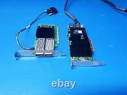 Mellanox Mcx556a-edat Connectx-5 Ex Vpi Carte Adaptateur Edr 100gbe Double-port Avec Del