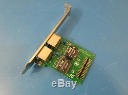 Mini Pci Express Pcie Gigabit Ethernet X2 Carte Réseau Carte Réseau Mp8111me- (d)