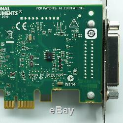 National Instruments Ni Pcie-gpib 198405c-02l Contrôleur Analyseur Carte Adaptateur