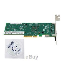 Nouveau Carte Adaptateur Réseau Convergé Ethernet Intel X550-t1 10gigabit 10g Pci-e