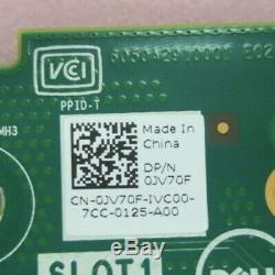 Nouveau Dell Pcie Double Carte Adaptateur 2 M. Solid State Drive Jv70f + 2x 120go Ssd Gkj0p