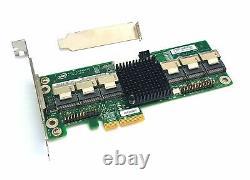 Nouveau Intel Res2sv240 SATA 6gbps 6g 24 Ports Sas Expander Server Adapter Raid Card