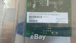Nouveau Intel X550-t1 Ethernet Réseau Convergé Carte Adaptateur Pci-10 Gigabit 10g E
