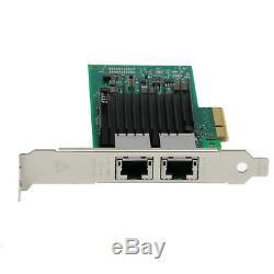 Nouveau Intel X550-t2 Ethernet Réseau Convergé Carte Adaptateur Pci-10 Gigabit 10g E