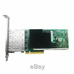 Nouveau Oem Nouveau X710-da4 4 Ports Pcie 3.0 X8 Ssp 10gbps Carte Réseau Ethernet