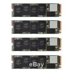 Nouveau Raid 8tb 4-slot Pour Carte Adaptateur + 4 X Intel 660p 2tb Ssd Et Mojave Mac Pro 5,1