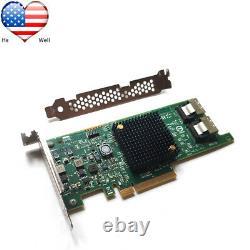 Nouveau Sas 9207-8i Adaptateur Pci-e 3.0 Lsi00301 Adaptateur De Bus D'accueil De Carte De Mode Informatique 6gb USA