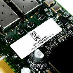 Nouvelle Carte D'adaptateur Serveur Chélio 10gbps Dual Port Fc/sfp Pciex8 Cc2-n320e-sr