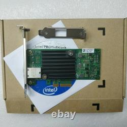 Nouvelle Intel X550-t1 Ethernet Converged Network Adapter Card 10gigabit 10g Pci-e
