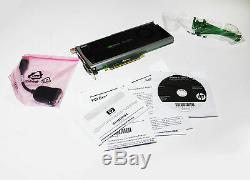 Nvidia Quadro 4000 Carte Graphique Pcie Avec Les Pilotes Et Adaptateur Excellent Etat
