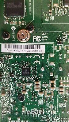 Nvidia Quadro K5000 4 Go Gddr5 Gpu Pci-e Workstation Carte Graphique Et Adaptateurs Vidéo