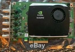 Nvidia Quadro Sdi Capture Carte De Capture Vidéo Adaptateur Pcie X8 Vcqsdinput-t