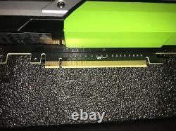 Nvidia Tesla K80 Gddr5 24 Go Cuda Pci-e Gpu Computing Card Avec Adaptateur D'alimentation Nvi
