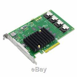 Oem Lsi00244 Pci-express 2.0 X8 SATA / Sas Host Bus Adapter Card