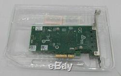 Open Box Dell 04v7g2 Intel X550-t2 Pcie Carte Adaptateur Réseau Qs0436