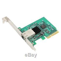 Pci Express 10 Gigabit Ethernet Carte Réseau Pcie 10 Go Rj45 Adaptateur Lan Port