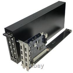 Pci-e Pour Doubler Pci 1x-16x Slot Adaptateur De Fente Version D'extension De Moule De Carte