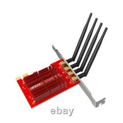 Pci-e Wifi Ac1900 Adaptateur Bi-bande 2.4g Sans Fil 5g Ac 1900 Pci Express Card