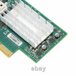 Pci-e X4 10 Go Port Unique Ethernet Carte Réseau Adaptateur Mellanox 10gmbps