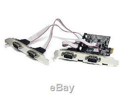 Pex4s553 Startech Pex4s553 4 Ports Pci Express Card Rs232 Carte Adaptateur Série