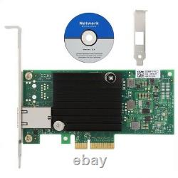 Pour Intel X550-t1 Main Control Chip Pci-e Ethernet Server Network Adapter Card G