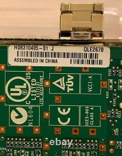 Qlogic Qle2670-ck 16 Go Fc Single Port Pcie Hba Adaptateur Factory Scellé! -plume