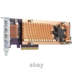 Qnap Inc Qm2-4p-384 Quad 2 M. Ssd Pcie Carte D'extension