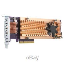 Qnap Qm2-4p-384 Cartes D'interface / Adaptateur Pcie Interne