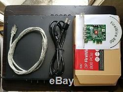 Saffire Pro 40 Interface D'enregistrement Numérique + Firewire 800 Pcie Adaptateur De Carte
