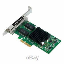 Siig Quatre Ports Gigabit Ethernet Pcie Carte 4 Voies Adaptateur I350-t4, Lb-ge0114-s1