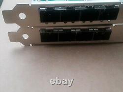 Silicom Quad Port Sfp+ 10 Gigabit Pcie Adapter X 2 Carte