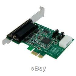 Startech 4 Ports Pcie Rs232 Carte Adaptateur Série