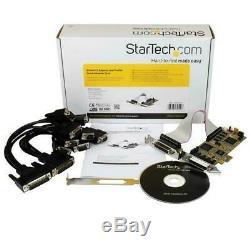 Startech 8 Port Pcie Lp Carte Adaptateur Série