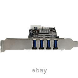 Startech. Com 4 Dual Port Bus Pci Express Pcie Superspeed usb Adapter Card 3.0