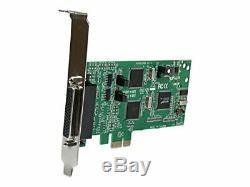 Startech. Com 4 Ports Pci Express Double Profil Pcie Série Adaptateur De Carte Avec Br
