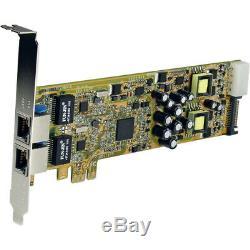 Startech Double Port Pci Express Ethernet Gigabit Pcie Adaptateur Carte Réseau Poe /