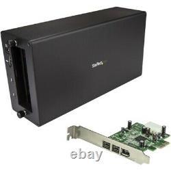 Startech Thunderbolt 3 À Firewire Adaptateur Externe Pci Enclosure Pcie Card