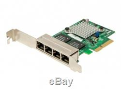 Supermicro Add-on Card Aoc-sgp-i4 Adaptateur Réseau Pcie 2.1 X4 Faible Aoc-sgp-i4