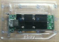 T93gd Dell Lsi 9300-8e 12gb/s Sas Double Port Pci-e 3.0x8 Carte D'adaptateur 0t93gd