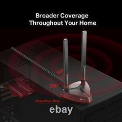 Tp-link Archer Tx3000e Ax3000 Pcie Wifi 6 Bluetooth 5.0 Carte D'adaptateur Pci Express