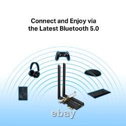Tp-link Archer Tx50e Ax3000 Pcie Wifi 6 Bluetooth 5.0 Carte D'adaptateur Pci Express