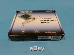 Trendnet Teg-10gectx Gigabit Pcie Carte Réseau Adaptateur