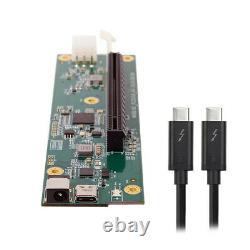 Type-c Thunderbolt 3 À Pci Express Pci-e 16x Desktop Graphics Card Nvme Cable