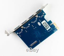 Usb 3.0 Pcie Express Card Adaptateur 4 Ports Pour Apple Mac Pro 1.1 5.1 / 2006-2012